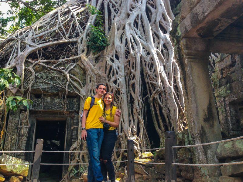 Aprecien la historia en Siem Reap