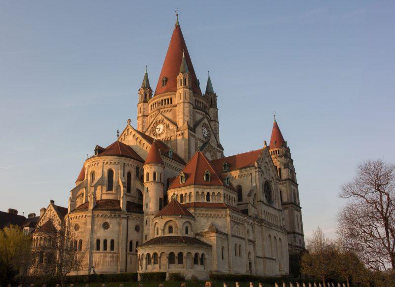 St. Francis of Assisi Church Vienna, Austria