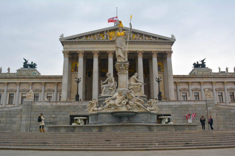 Edificio del Parlamento Austriaco