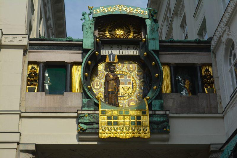 Anker Clock Vienna, Austria