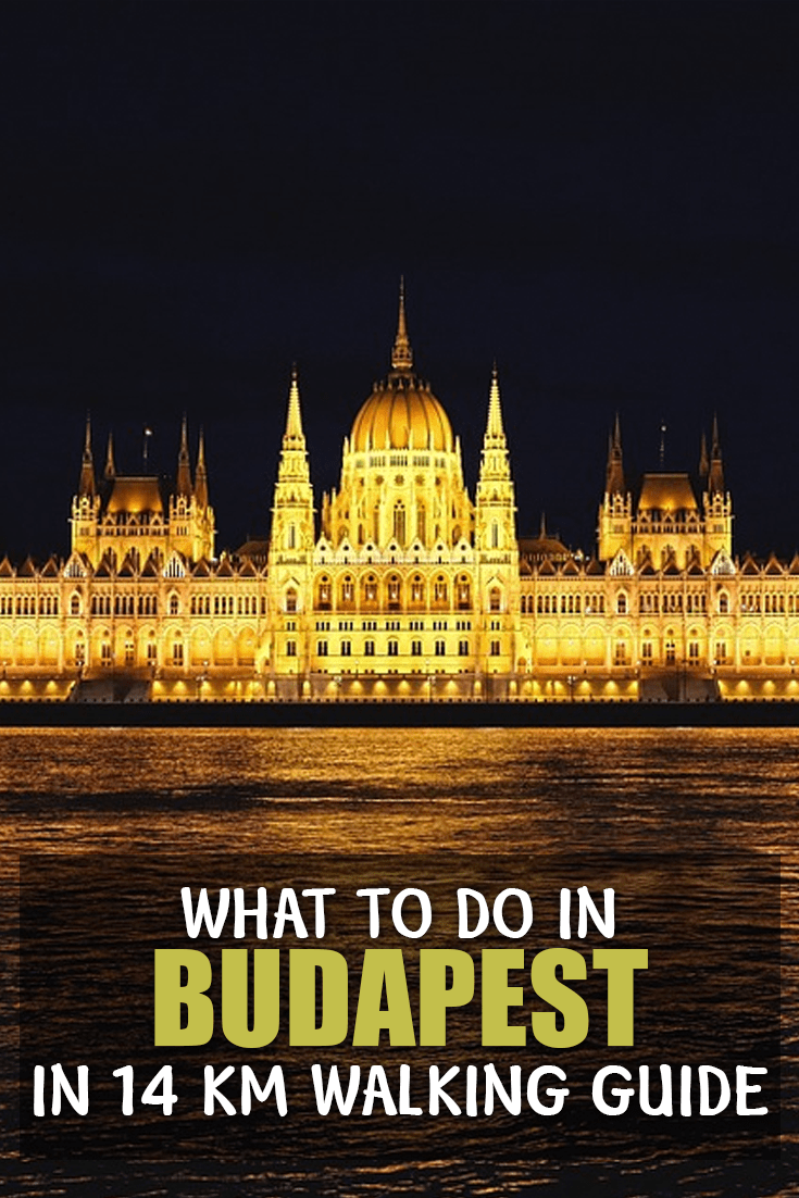 The best things to do in Budapest. Walking Guide to explore Budapest and its main attractions.