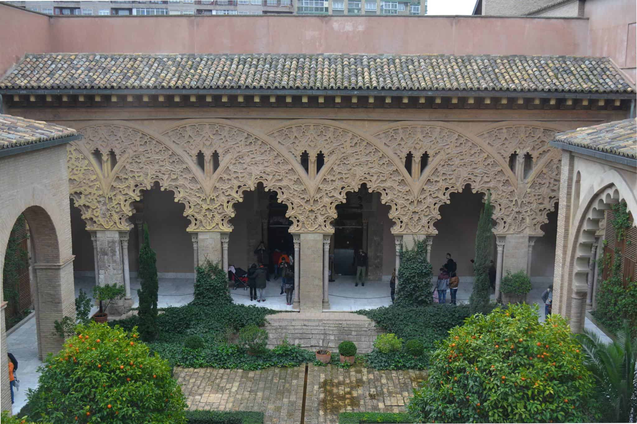 Aljaferia Zaragoza, Spain