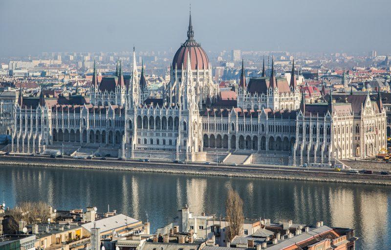 Hungarian Parliament Building Budapest