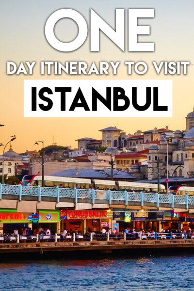 The best one day itinerary to visit Istanbul