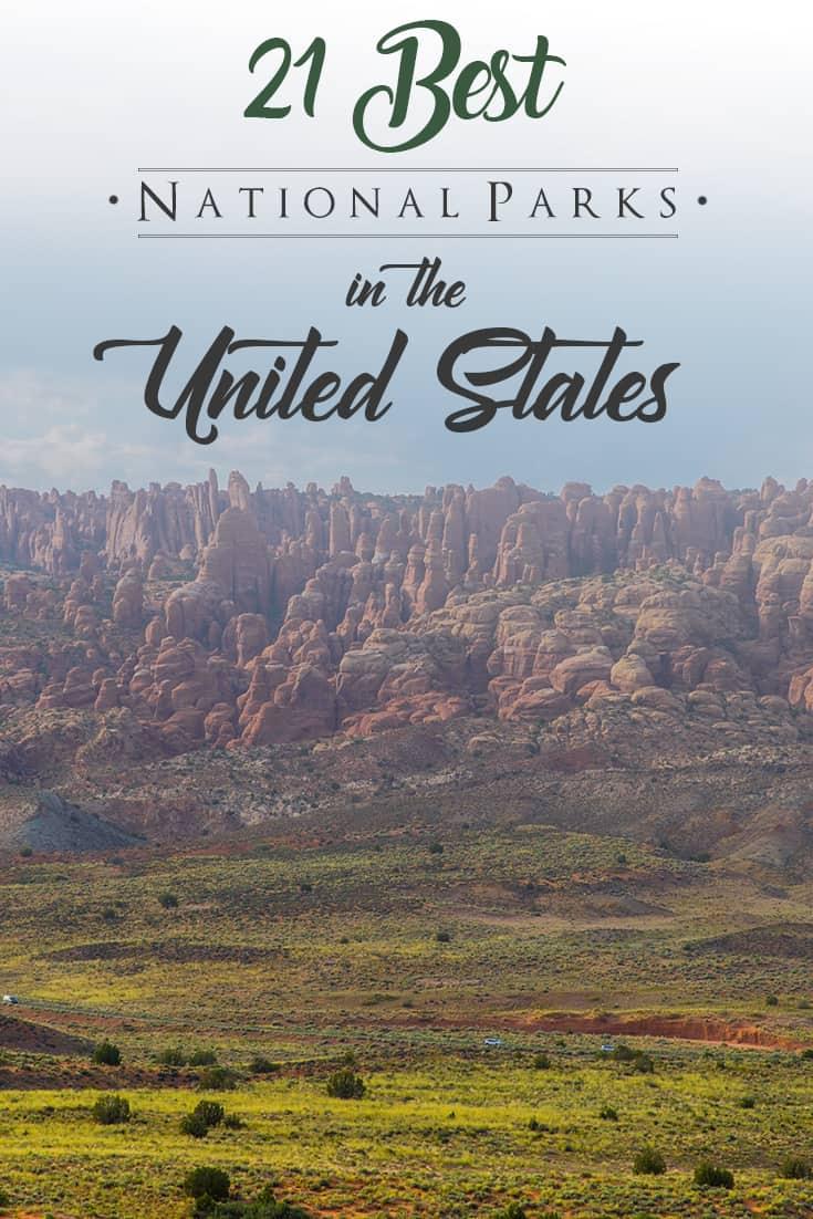 21 National Parks