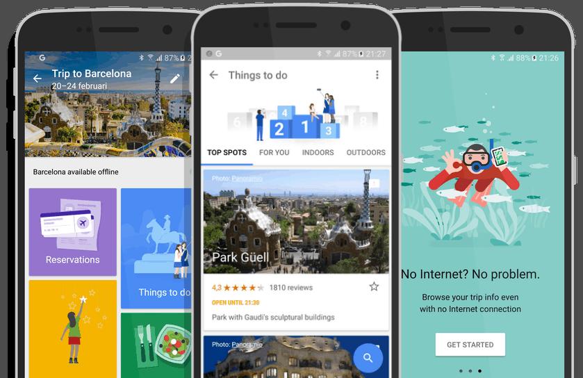 aplicaciones de internet gratuitas para viajar