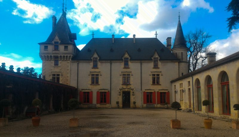 Tour por Château de Pressac