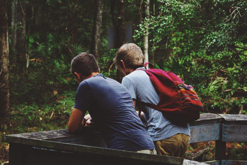 Viaja con alguien que ya conozcas