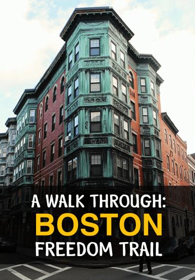 A walk through Boston Freedom Trail, USA