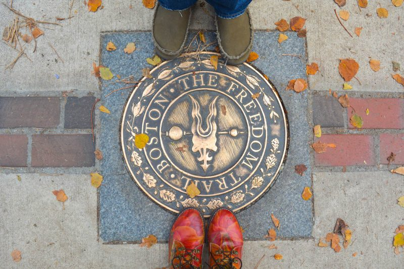 A Walk Through History: Freedom Trail Map and Self Guided