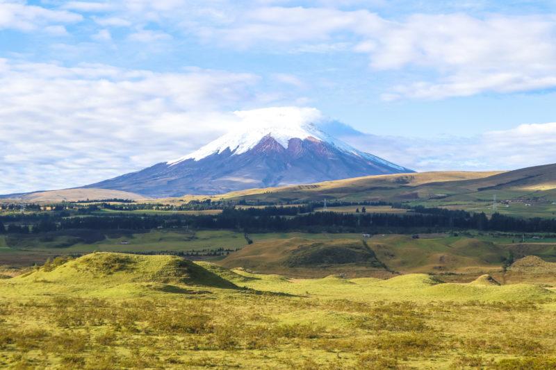 Volcán Cotopaxi - Que visitar en Ecuador
