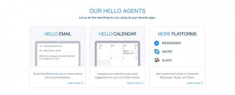 Get your flight searches in whatever platform is most convenient.