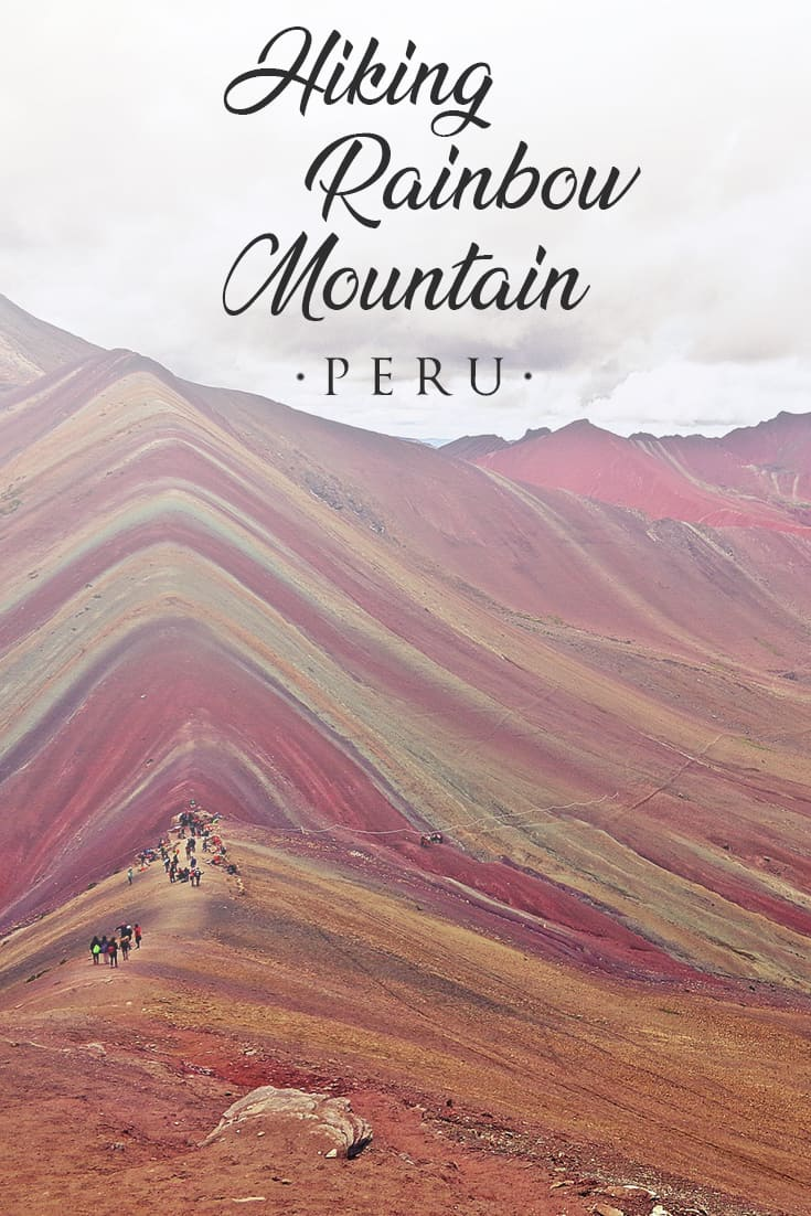 Everything you need to know to plan your trip to Rainbow Mountain from Cusco. The perfect day trip to rainbow mountain. What to do and how to get to rainbow mountain.