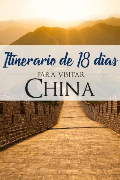 Los Mejores Lugares Que Ver y Visitar en China en 18 días