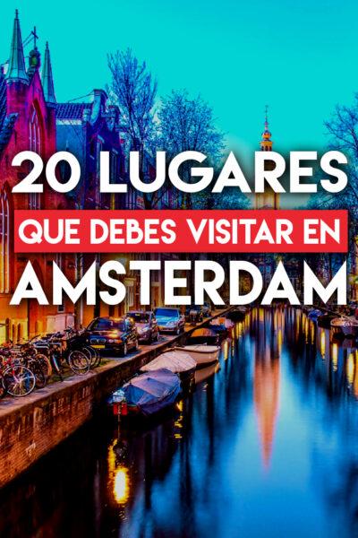 Las mejores cosas que hacer y que ver en Amsterdam