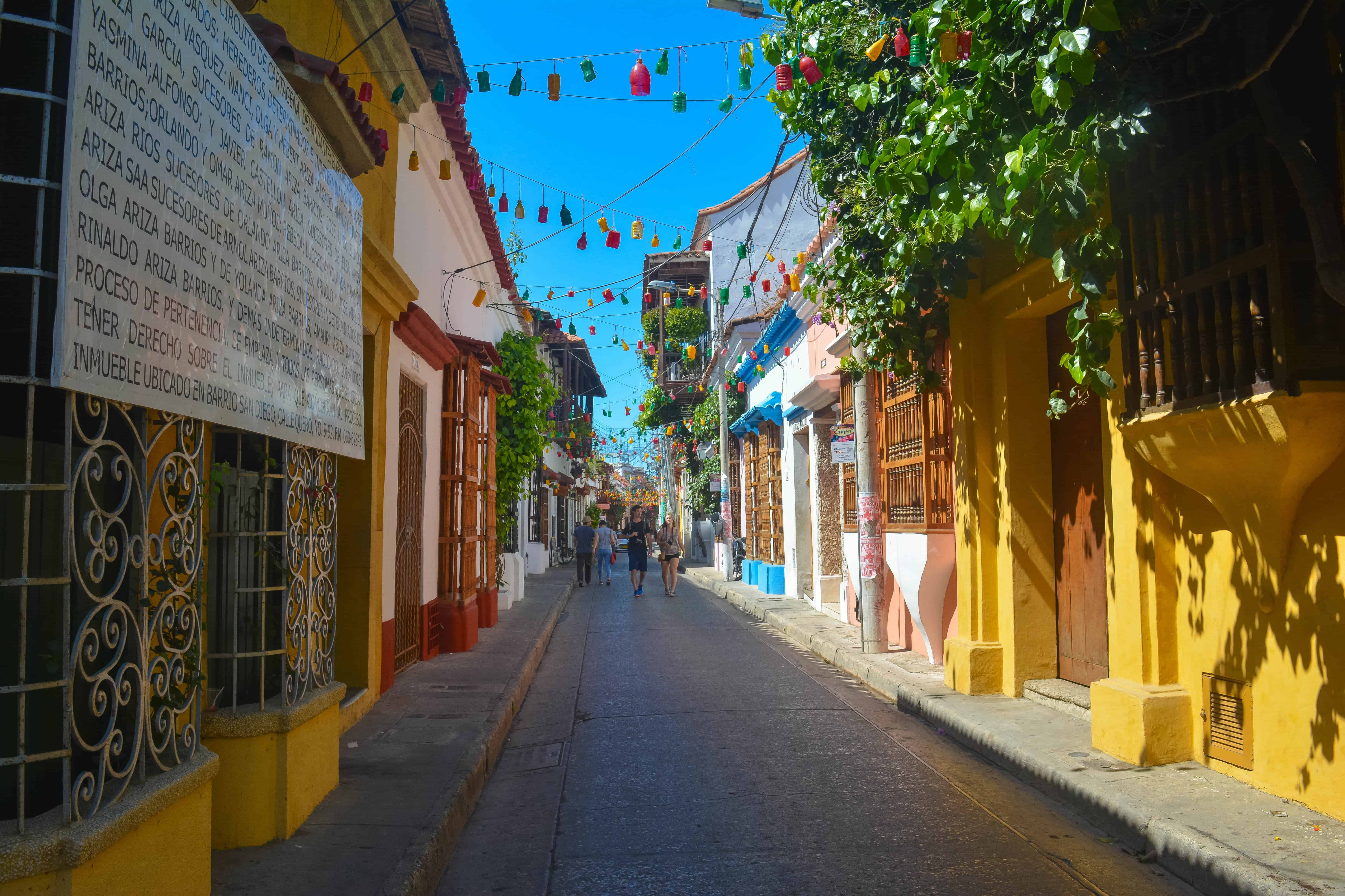 Get lost in the streets of Old Cartagena