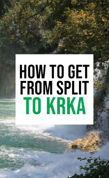 How to get from Split to Krka National Park