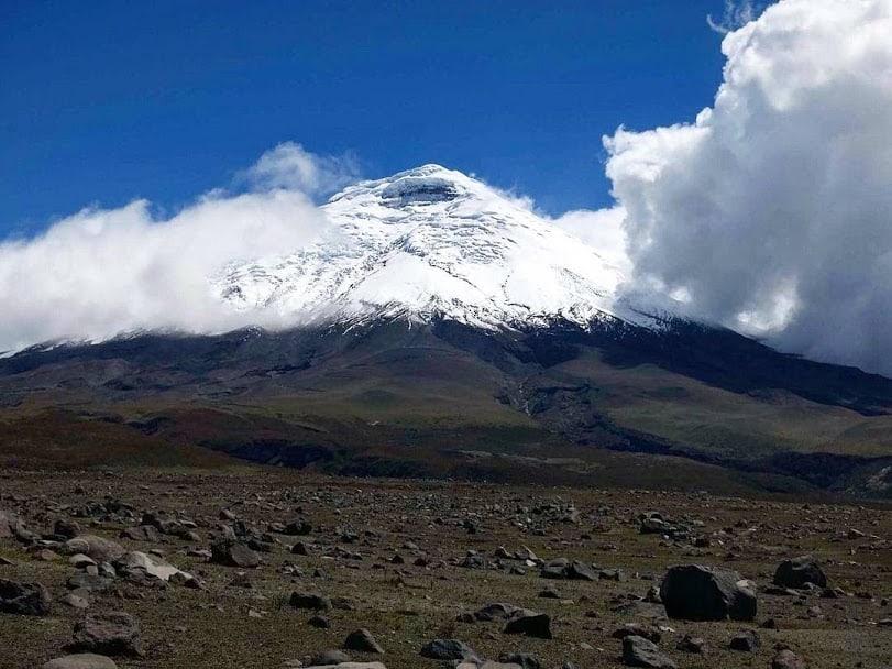 El Volcán Cotopaxi