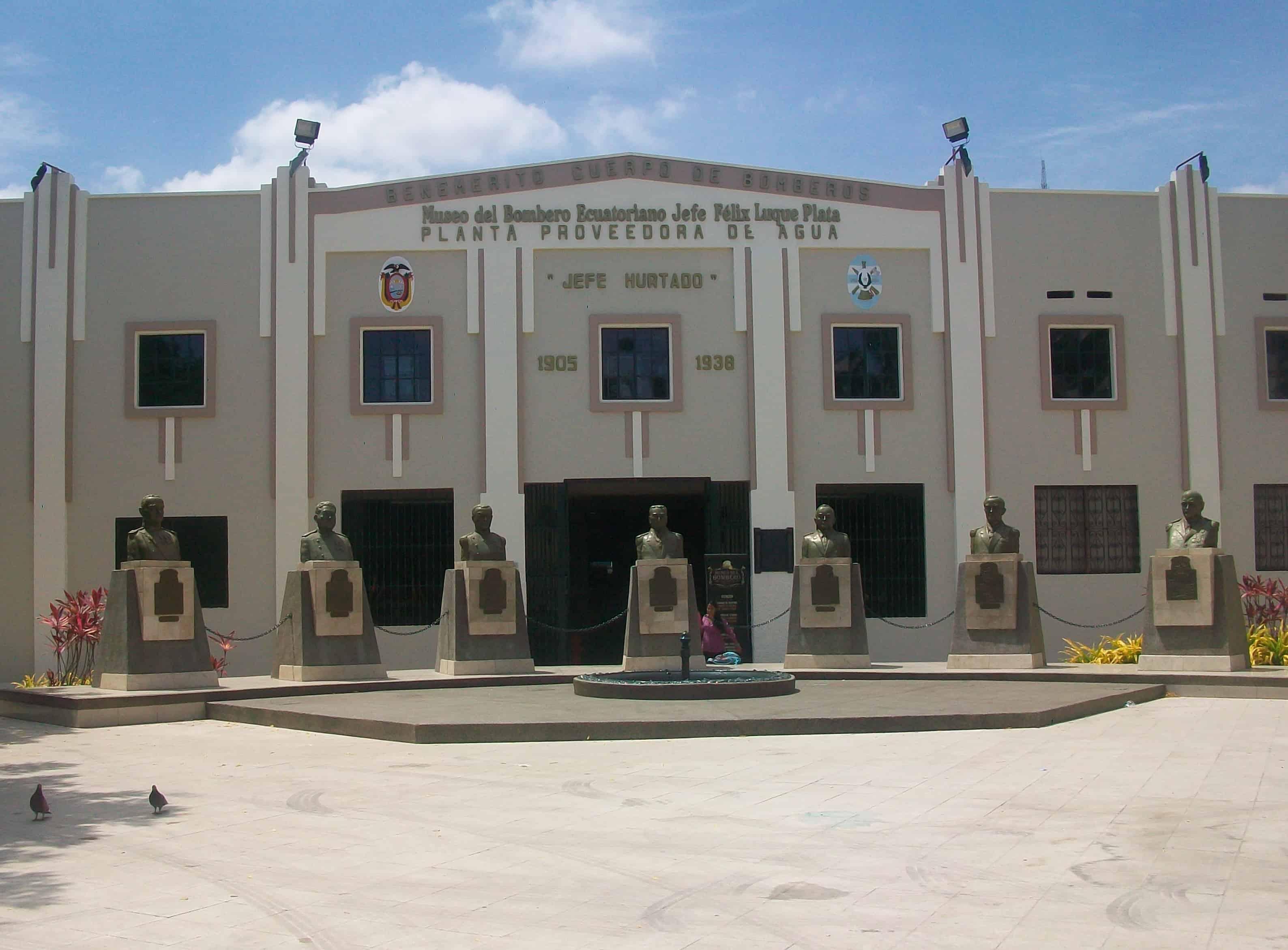 lugares turísticos de Guayaquil: Museo del Bombero