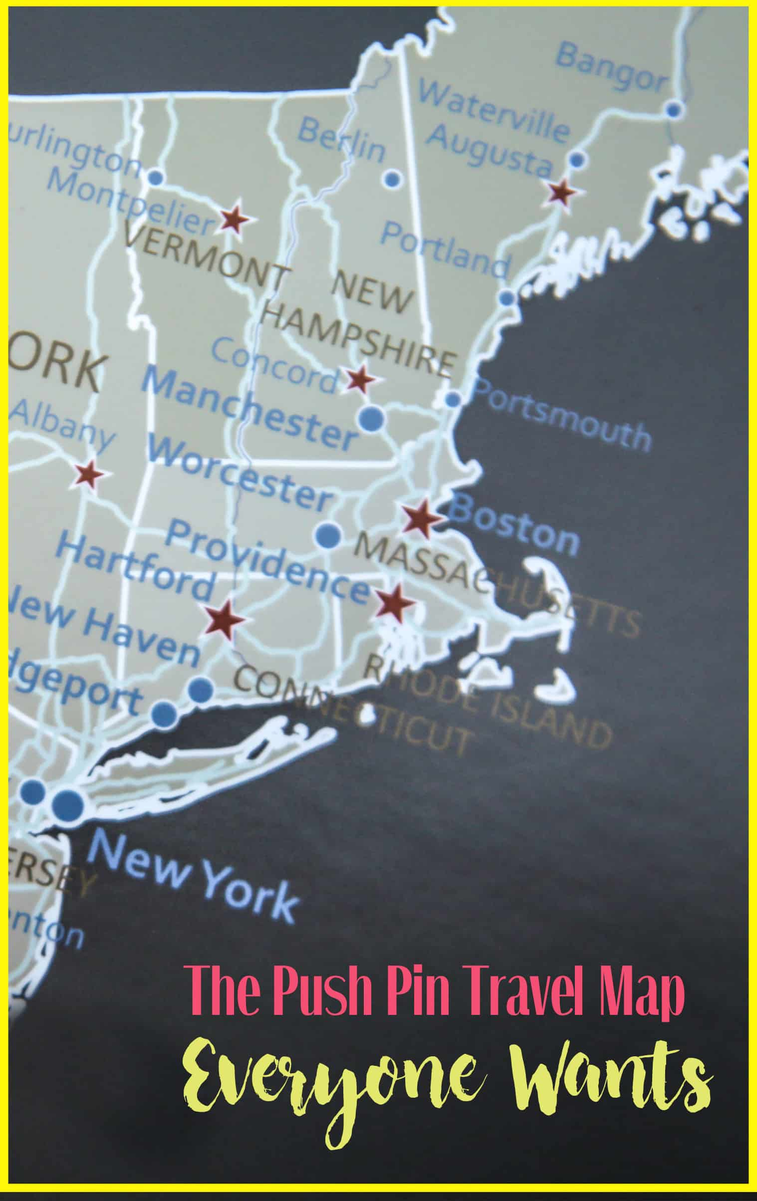 Push Pin Maps Pinterest