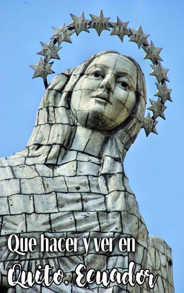 Lo mejor para visitar y conocer en Quito.