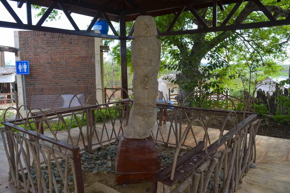 San Biritute, uno de los muy conocidos sitios turísticos de Santa Elena