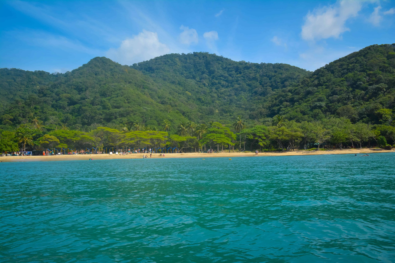 Enjoying the beaches at tayrona national park