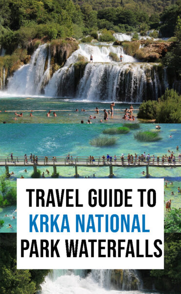 The complete travel guide to visit Krka National Park and its waterfalls.