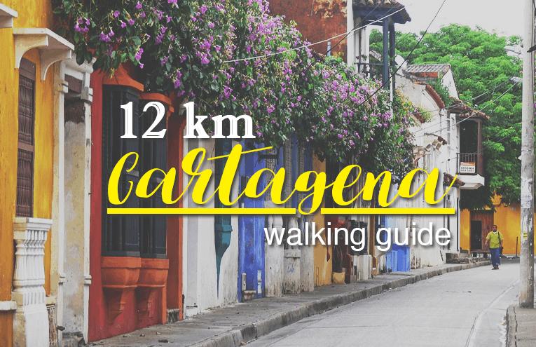 cartagena 12 Km walking guide