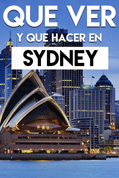 Las mejores cosas que ver y que hacer en Sydney