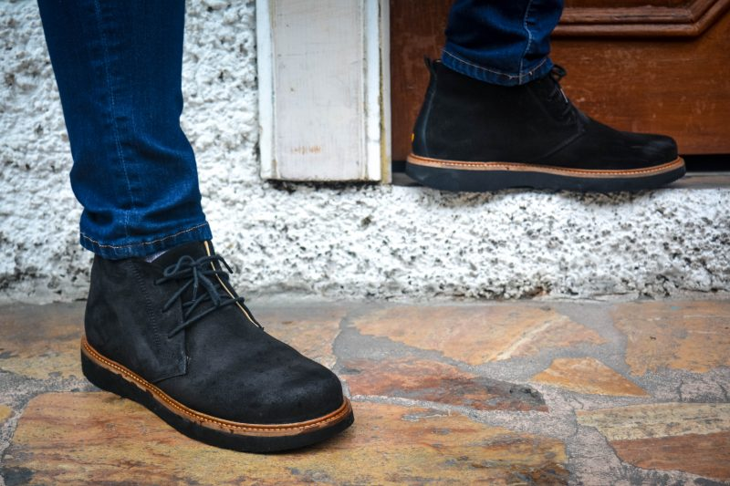 Cobble stone street comfortable shoes