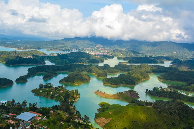 Day trip to the colorful city of Guatapé from Medellín, Colombia