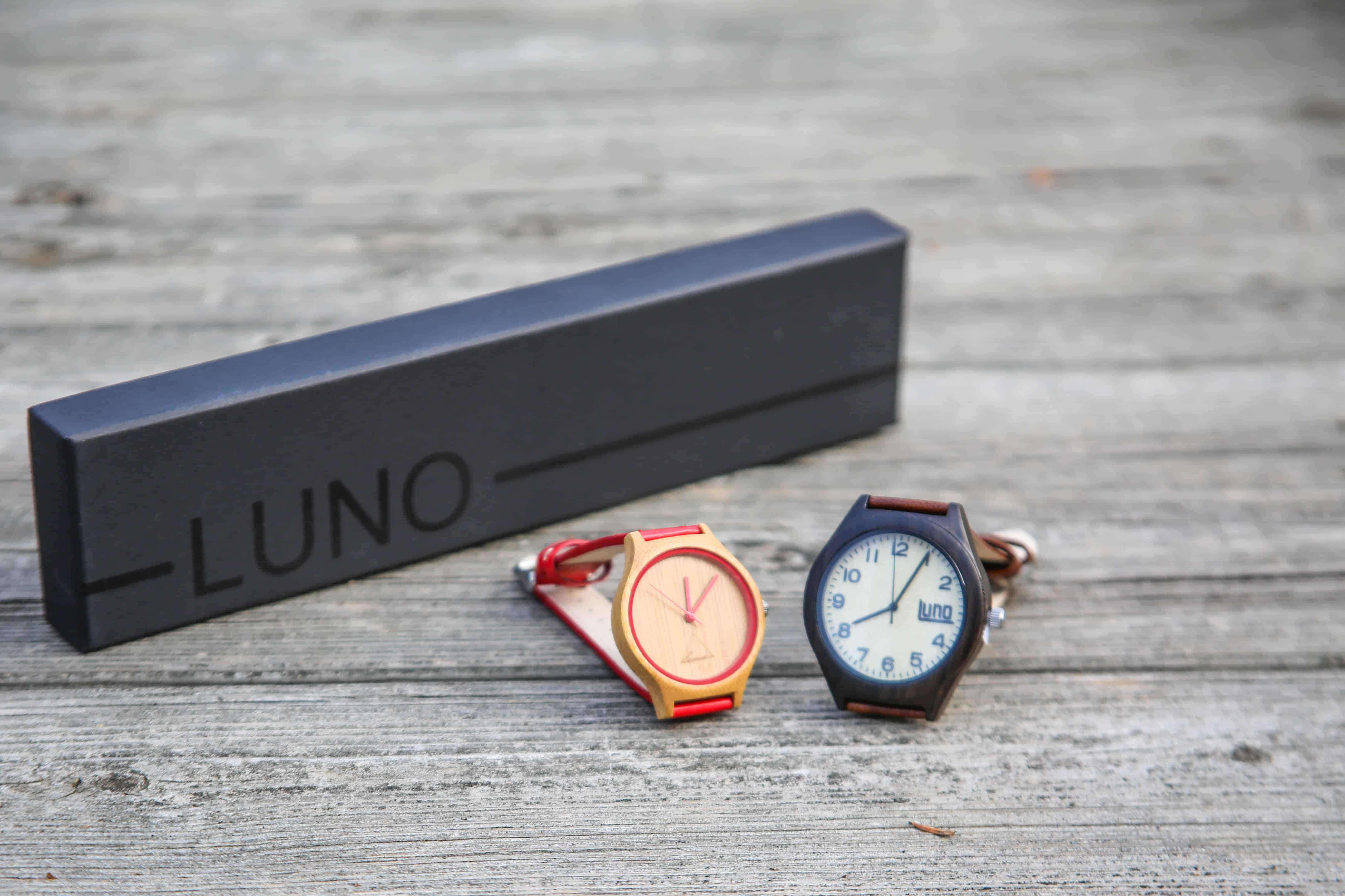 luno wear: Wooden Watches Style