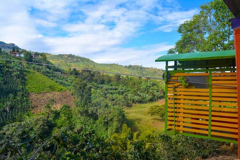 El Jardin Colombia Teleferíco