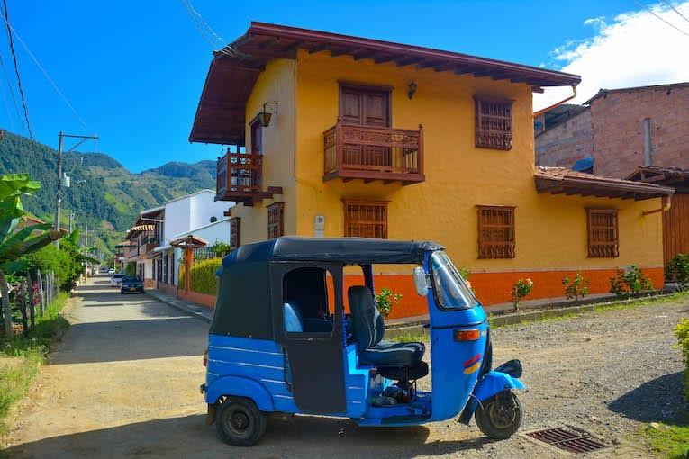 Tour en moto de Jardin Colombia