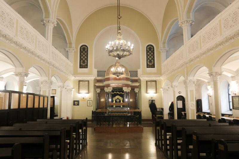 Warsaw- Sinagoga Nozyk
