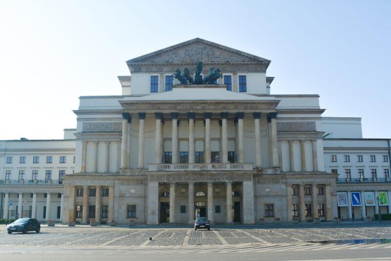 Warsaw-l Gran Teatro de Varsovia - Teatr Wielki