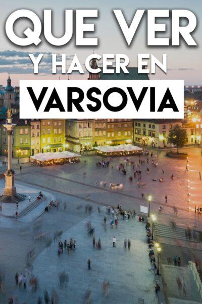 Que hacer en Varsovia