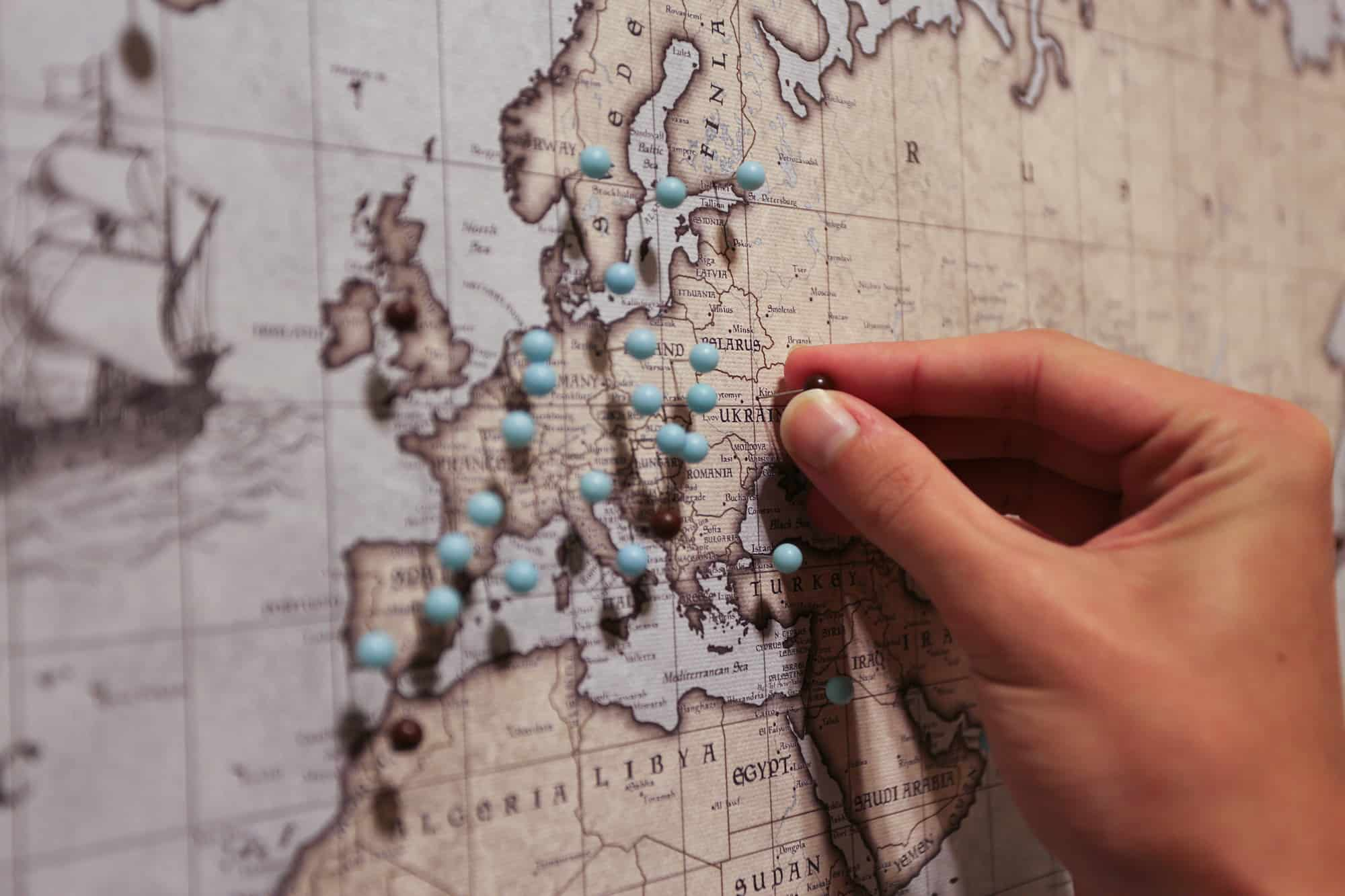Conquest Map World Travel Pin Map Quality