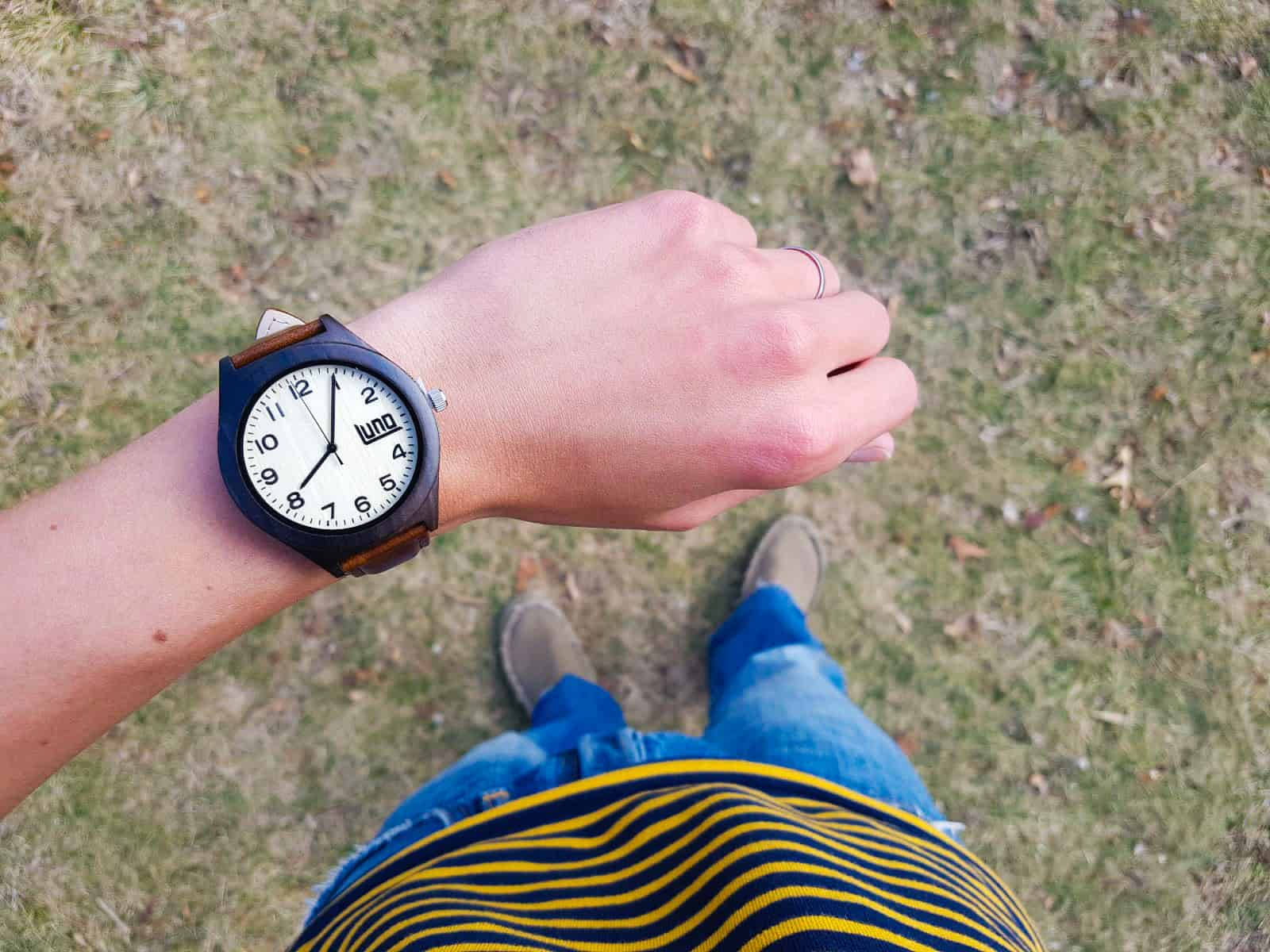 Luno Wear Ebony and Bamboo Watches Review