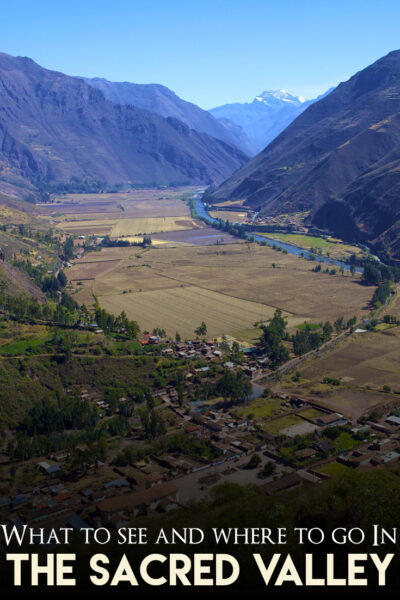 what to see in the sacred valley