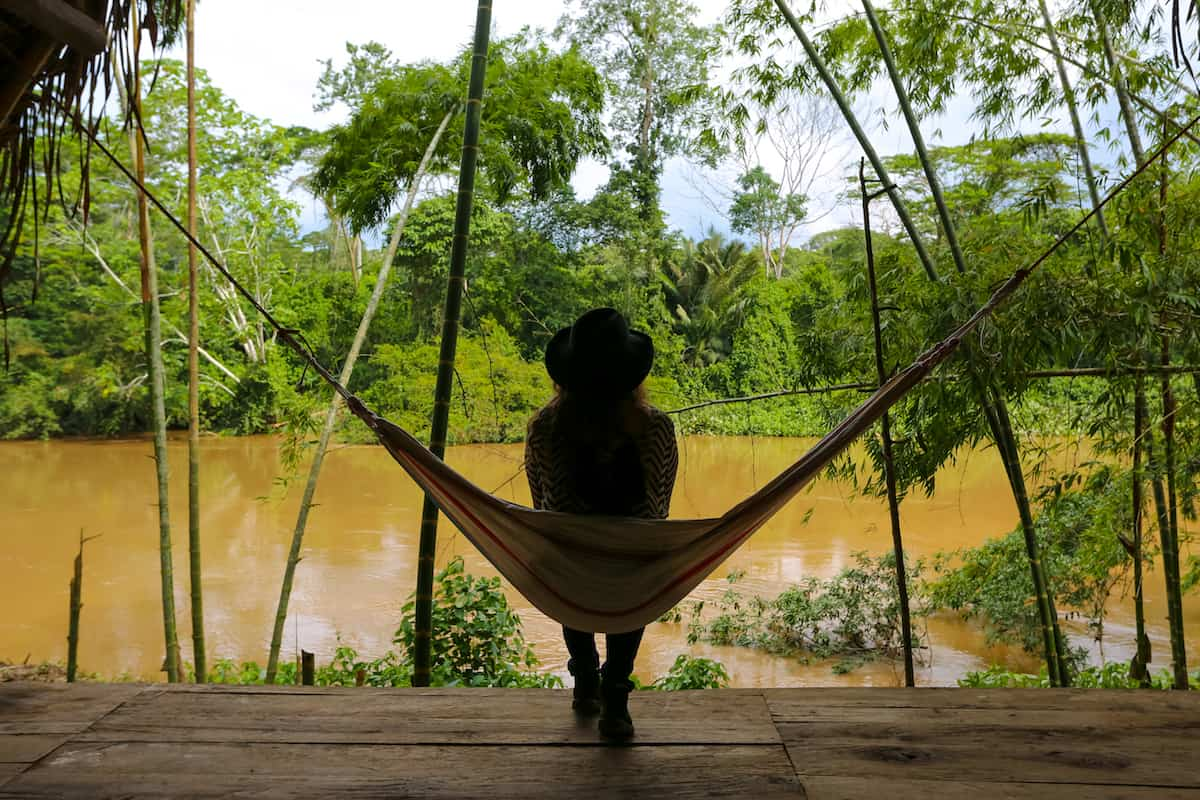 Relaxing Hammock - Mandaripanga Yasuni Jungle Expedition - Glamping in Yasuni National Park