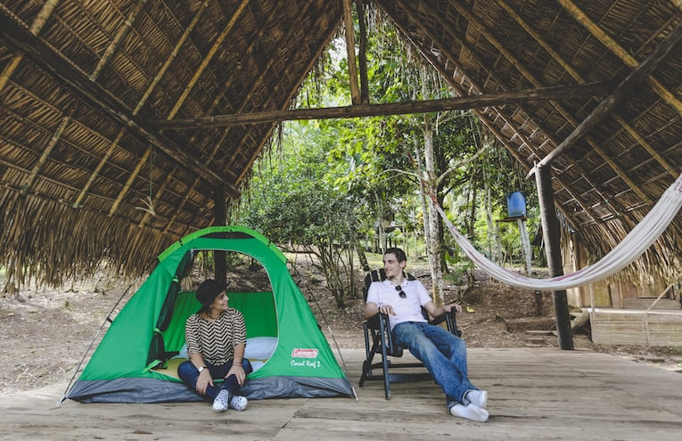 Glamping in the Yasuni Rainforest National Park
