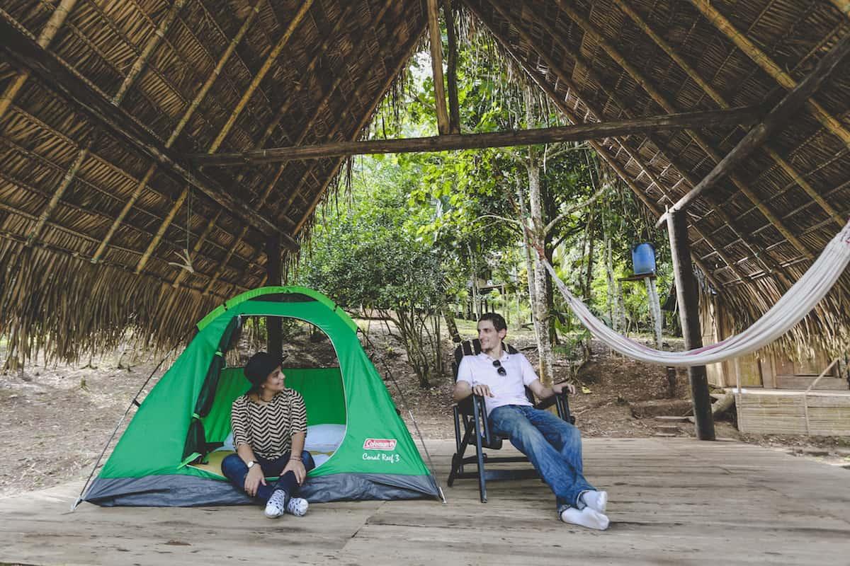 Camping - Mandaripanga Yasuni Jungle Expedition - Glamping in Yasuni National Park