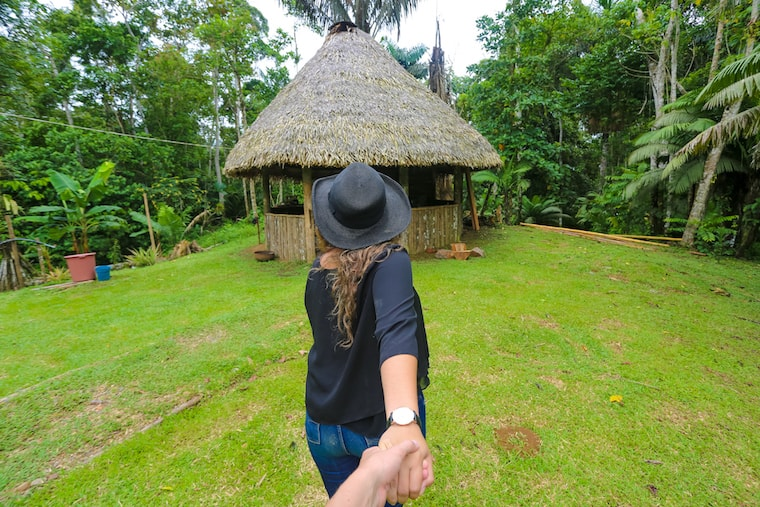 Visiting Pashpanchu in the heart of the Ecuadorian Rainforest