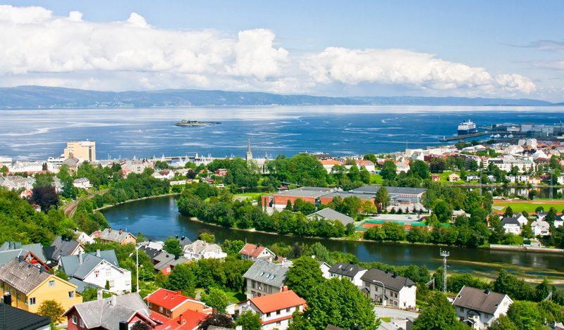 Los mejores lugares turísticos de Noruega:  Trondheim