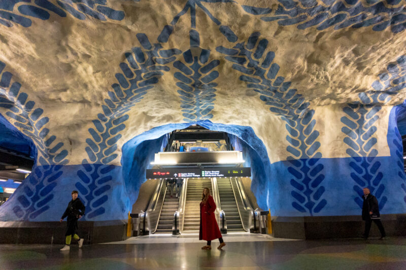 Los metros de Estocolmo
