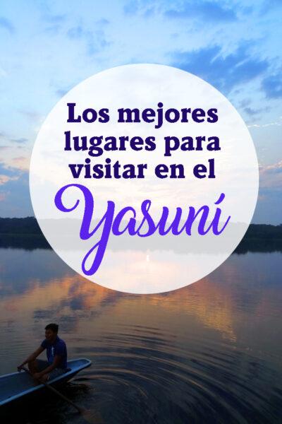 5 Cosas que er en el Yasuní