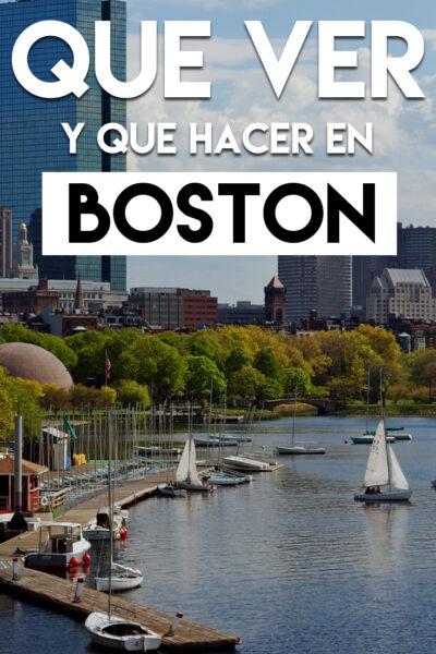 Que ver y que hacer en Boston