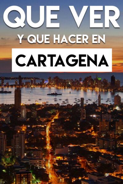 Que ver y Que hacer en Cartagena